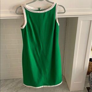BR Green & White Tennis Dress • Size 4